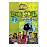Standard Deviants School Basic Math Module 2: Subtracting Integers DVD