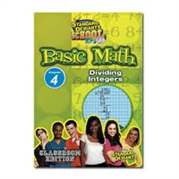 Standard Deviants School Basic Math Module 4: Dividing Integers DVD