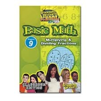 Standard Deviants School Basic Math Module 9: Multiplying And Dividing Fractions DVD