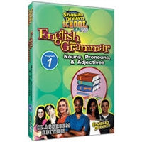 Standard Deviants School English Grammar Module 1: Nouns, Pronouns, And Adjectives DVD