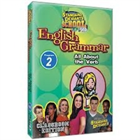Standard Deviants School English Grammar Module 2: All About The Verb DVD