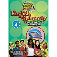 Standard Deviants School English Grammar Module 4: Examining The Sentence DVD