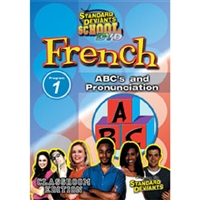 Standard Deviants School French Module 1: ABC's And Pronunciation