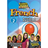 Standard Deviants School French Module 2: Articles And Adjectives