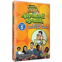 Standard Deviants School Advanced Spanish Module 5: Modal And Reflexive Verbs