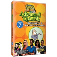 Standard Deviants School Advanced Spanish Module 7: Subjunctive And Formal Commands