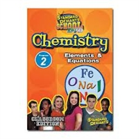 Standard Deviants School Chemistry Module 2: Elements & Equations DVD