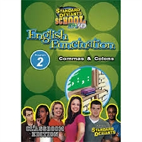 Standard Deviants School English Punctuation Module 2: Commas & Colons DVD