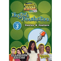 Standard Deviants School English Punctuation Module 3: Dashes & Hyphens DVD