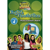Standard Deviants School English Punctuation Module 4: Punctuation Pairs DVD
