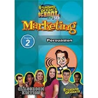 Standard Deviants School Marketing Module 2: Persuasion DVD