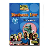 Standard Deviants School Business Law Module 1: The Basics DVD