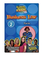 Standard Deviants School Business Law Module 2: Torts DVD