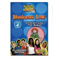 Standard Deviants School Business Law Module 4: Contract Law - The Sequel DVD