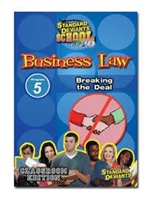 Standard Deviants School Business Law Module 5: Breaking The Deal DVD