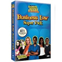 Standard Deviants School Business Law 5 Pack DVD