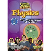 Standard Deviants School Physics Module 5: The Three Laws Of Motion DVD