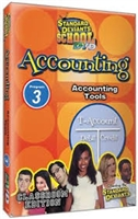 Standard Deviants School Accounting Module 3: Accounting Tools DVD