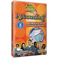 Standard Deviants School Accounting Module 5: Preparing An Income Statement DVD