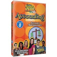 Standard Deviants School Accounting Module 8: Account Management DVD