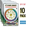 Kelso's Choice Wheel Full-Color Posters (10 Pack)