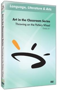 Art in The Classroom Series: Throwing on the Pottery Wheel (#394344)