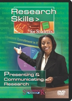 Research Skills For Students: Presenting & Communicating Research