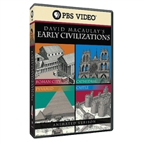 David Macaulay's Early Civilizations (Complete 4 DVD Series)