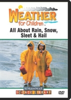 Weather For Children: All About Rain, Snow, Sleet & Hail