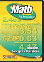 Math for Students: Decimals: Concepts & Operations