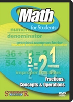 Math for Students: Fractions: Concepts & Operations