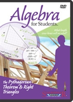 Algebra for Students: Pythagorean Theorem & Right Triangles