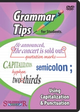 grammar tips for students using capitalization punctuation