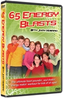 65 Energy Blasts for Kids DVD