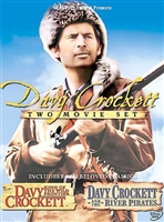 Davy Crockett 50th Anniversary DVD
