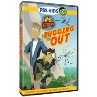 Wild Kratts: Bugging Out DVD