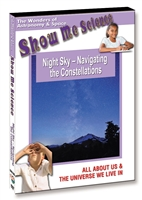 Night Sky - Navigating the Constellations DVD