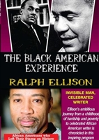 Ralph Ellison: Invisible Man, Celebrated Writer DVD