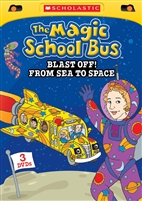 The Magic School Bus: Blast Off From Space to Sea DVD