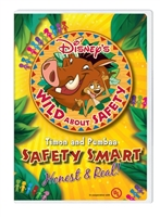Disney's Wild About Safety: Honest & Real DVD