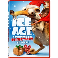 Ice Age: A Mammoth Christmas DVD