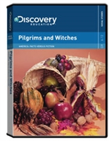 America Facts Versus Fiction: Pilgrims and Witches DVD