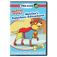 Martha Speaks: Martha's Superhero Adventures DVD