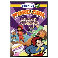 WordGirl: Monkey Business DVD