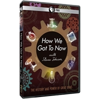 How We Got to Now with Steven Johnson DVD