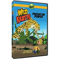 Wild Kratts: Predator Power DVD