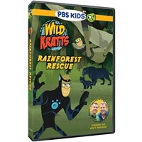 Wild Kratts: Rainforest Rescue DVD