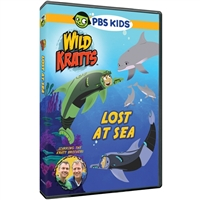 Wild Kratts: Lost at Sea DVD