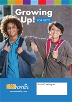 Growing Up! for Boys DVD