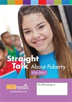 Straight Talk About Puberty for Girls DVD